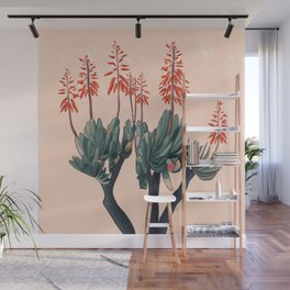 A blooming Plant Wall Mural