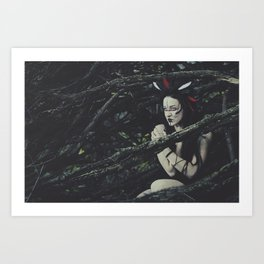 Tree Cage Art Print
