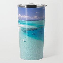 Maldives Tropics Tropical Aerial Travel Mug