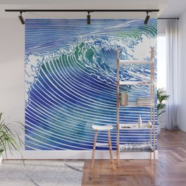 Atlantic Waves Wall Mural