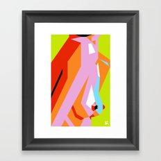 Side Show Framed Art Print