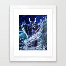 """Goddess Macha"" by Rev. Paul Messerle, HP Framed Art Print"