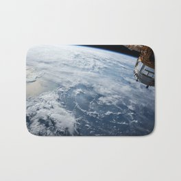 welcome to the space station Bath Mat