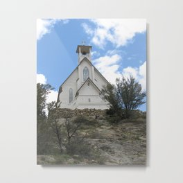 Old Cathlic Church Metal Print