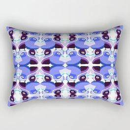 Pato Azul Rectangular Pillow