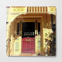 Stage Door - 1889 - No Soliciting Metal Print