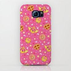Sailor Moon Brooches Pattern - Pink / Sailor Moon Galaxy S6 Slim Case