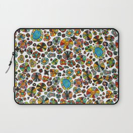 Barca Dots Pattern multicolor Laptop Sleeve