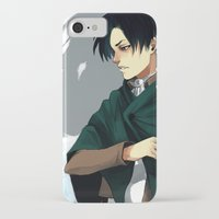 levi iPhone & iPod Cases featuring Levi by MelCassells
