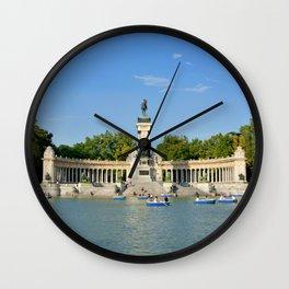 El Retiro | Madrid, Spain Wall Clock