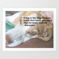 Quote 4 Art Print