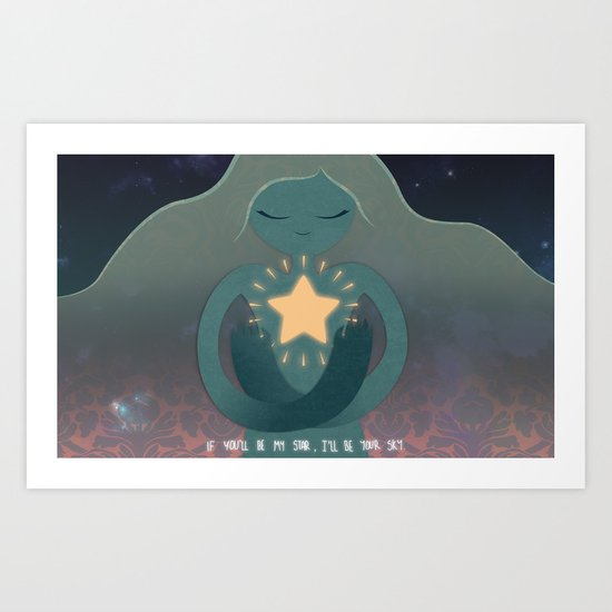 Stardust 01 Art Print