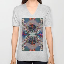 Project 71.138 - Abstract photo-montage Unisex V-Neck