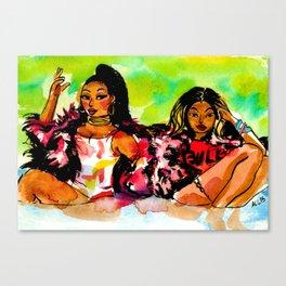 Feeling Myself Canvas Print