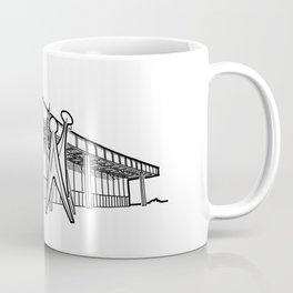 Mies - Berlin National Gallery Sketch (B) Coffee Mug
