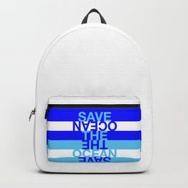 Save the Ocean Backpack