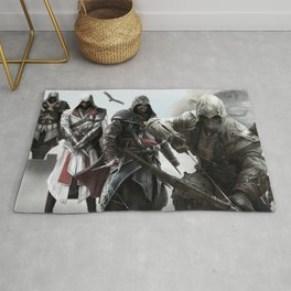 Assassin All characters Rug