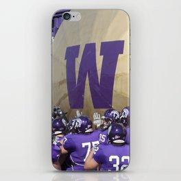 Winona State University Football iPhone Skin