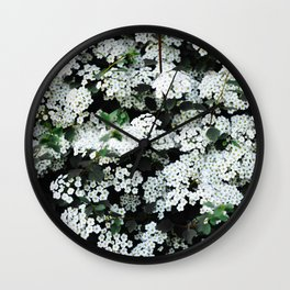 Seeing White Wall Clock