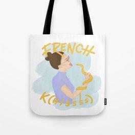French K(hissss) Tote Bag