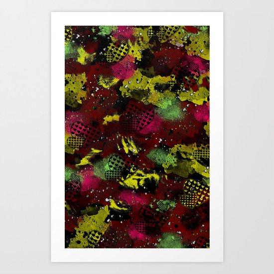 Darken Art Print