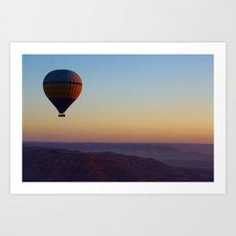 Luxor Sunrise Art Print