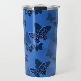 Iron Butterfly Camouflage Travel Mug