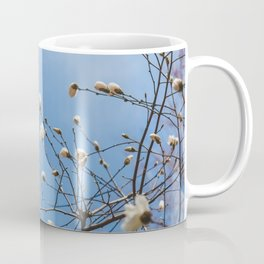 First to Bloom - Magnolia Flower Photography Coffee Mug