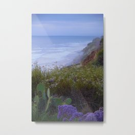 Del Mar Misty Last Light by Reay of Light Metal Print
