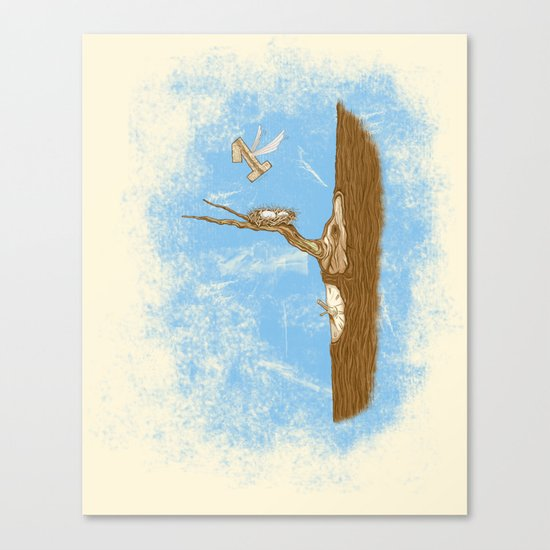 1 Flew Over the Cuckoo's Nest Canvas Print