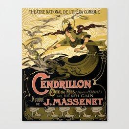 Cendrillon, Théâtre National de l'Opéra-Comique, Paris Canvas Print