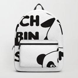 Panda Three Years Old 3rd Birthday Three Year Old Backpack