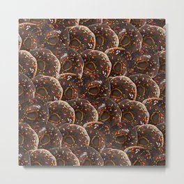 Delicious Donuts Metal Print