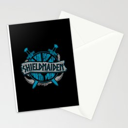 shieldmaiden #3 Stationery Cards
