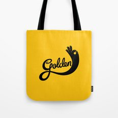 Golden! Tote Bag