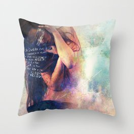 Blindness Throw Pillow