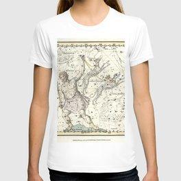 Constellations Bootes, Canes Venatici - Celestial Atlas Plate 7 Alexander Jamieson T-shirt