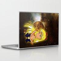 sailor venus Laptop & iPad Skins featuring Sailor Venus by Maren Lex