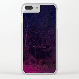Kiss and Tell Clear iPhone Case