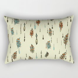 V36 BOHO ANTHROPOLOGIE STYLE PATTERN Rectangular Pillow