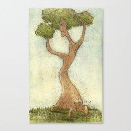 Tree Friend Canvas Print