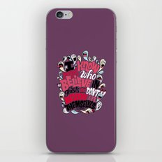 Believing in Ghosts iPhone & iPod Skin
