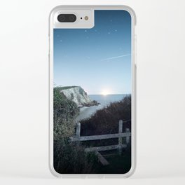 Cove Skies Clear iPhone Case