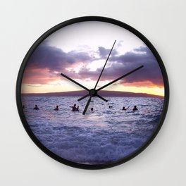 Sunset 01 Wall Clock