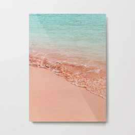 Beach Gradient Metal Print