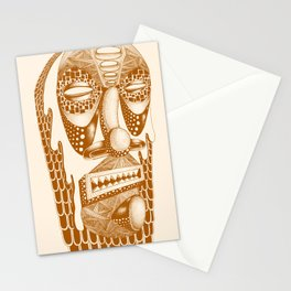 Masked III Stationery Cards
