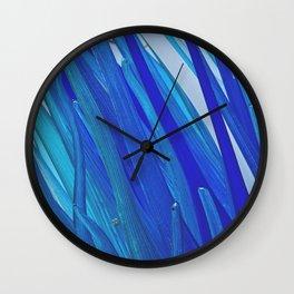BLUE BLUE BLUE Wall Clock