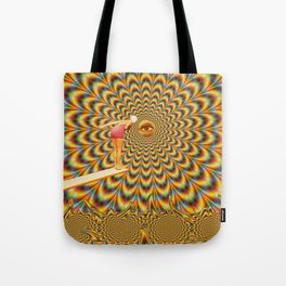 Acid jump Tote Bag
