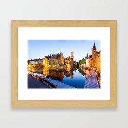 Bruges Framed Art Print