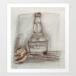 Whiskey Bourbon Art Print